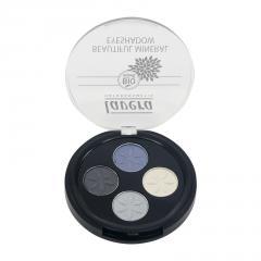 Lavera Oční stíny QUATRO 07 modrá platina, Trend Sensitive 3,2 g