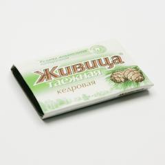 ostatní Sibiřská žvýkací pryskyřice z cedru 5 tablet, 4 g