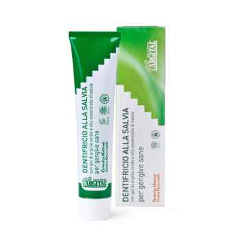 Zubní pasta se šalvějí a zeleným jílem 75 ml