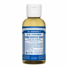 Dr. Bronner´s Tekuté universální mýdlo ALL-ONE!, Peppermint 59 ml
