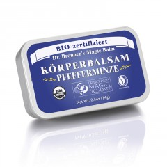 Dr. Bronner´s Tělový balzám Peppermint 14 g