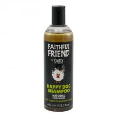 Faith in Nature Přírodní heřmánkový šampon pro psy Happy Dog 400 ml