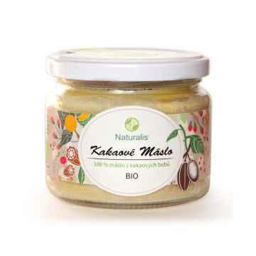 Naturalis Kakaové máslo, bio 300 ml