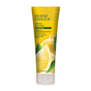 Desert Essence Šampon pro mastné vlasy lemon tea tree 237 ml
