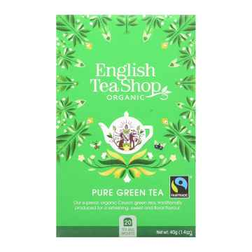 English Tea Shop Zelený čaj, bio 40 g, 20 ks