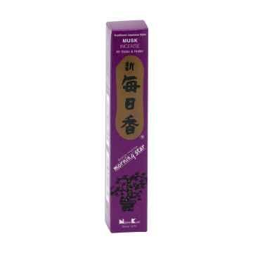Nippon Kodo Vonné tyčinky japonské Morning Star Musk 50 ks
