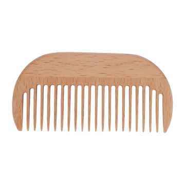Redecker Kapesní hřeben z bukového dřeva Afro Comb 1 ks, 9 cm