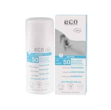 Eco Cosmetics Ochranné sluneční mléko SPF 50, Neutral 100 ml