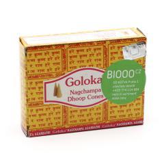 Goloka Vonné jehlánky indické, Nag Champa 10 ks
