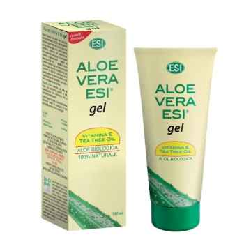 ESI Aloe vera gel s vitaminem E a teatree 200 ml