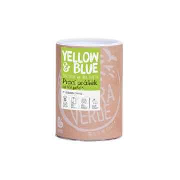Yellow and Blue Prací prášek na bílé prádlo a látkové pleny 850 g, dóza