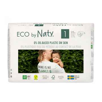 Eco by Naty Plenky Newborn 2-5 kg 25 ks
