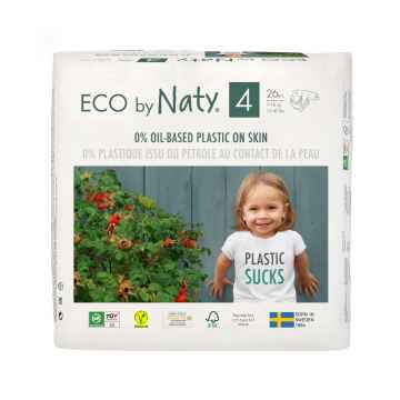 Eco by Naty Plenky Maxi 7-18 kg 26 ks