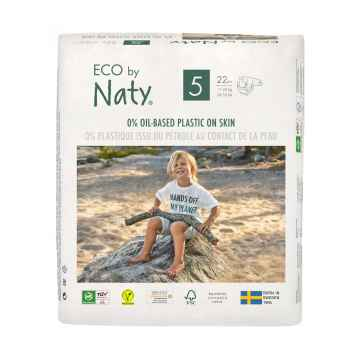 Eco by Naty Plenky Junior 11-25 kg 22 ks
