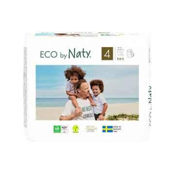 Eco by Naty Natahovací plenkové kalhotky Maxi 8-15 kg 22 ks