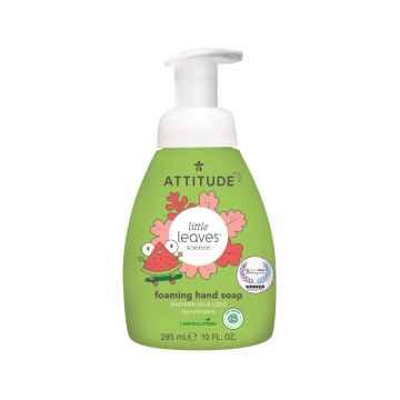 Attitude Dětské pěnivé mýdlo na ruce Little leaves s vůní melounu a kokosu  295 ml