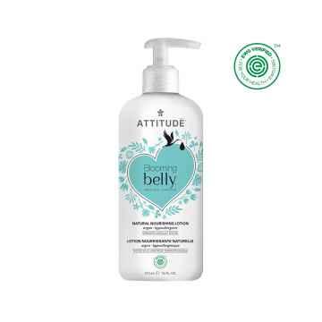 Attitude Přírodní vyživující tělové mléko Blooming Belly nejen pro těhotné s arganem 473 ml