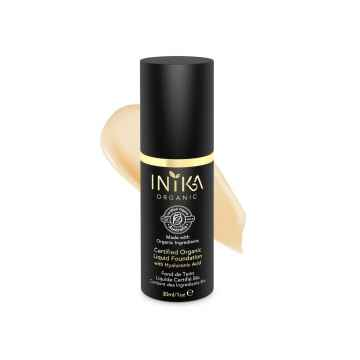 Inika Organic Tekutý make-up s kyselinou hyaluronovou, Cream 30 ml