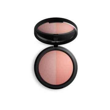 Inika Organic Zapečená minerální duo tvářenka, Pink Tickle Duo 8 g