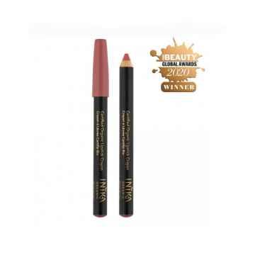 Inika Organic Crayon tužka na rty, Rose Nude 3 g