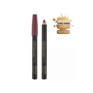 Inika Organic Crayon tužka na rty, Deep Plum 3 g