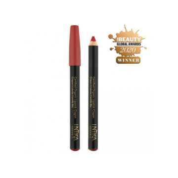 Inika Organic Crayon tužka na rty, Chilli Red 3 g
