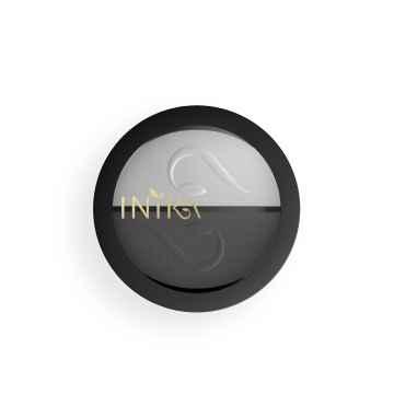 Inika Organic Kompaktní minerální duo očních stínů, Platinum Steel 3,9 g