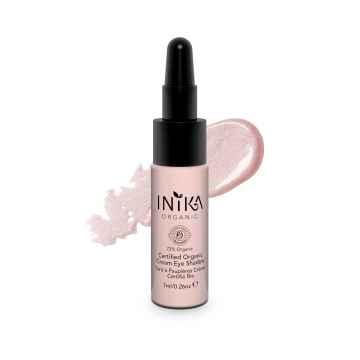 Inika Organic Krémový oční stín, Pink Cloud 7 ml