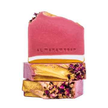 Almara Soap Mýdlo Růžový Grep 100 g +- 5 g