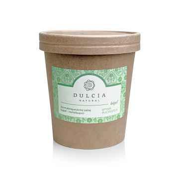 DULCIA natural Revitalizující solná koupel smrk a eucalyptus 550 g