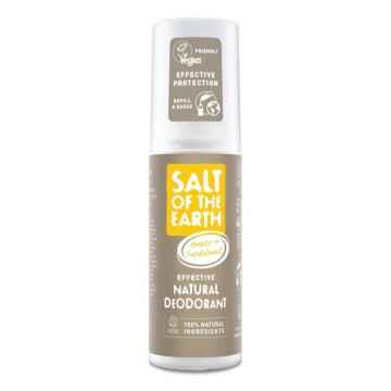 Salt of the Earth Pure Aura Přírodní deodorant sprej ambra a santalové dřevo 100 ml