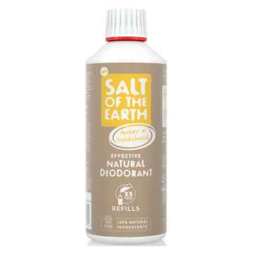 Salt of the Earth Pure Aura Náhradní náplň ambra a santalové dřevo 500 ml