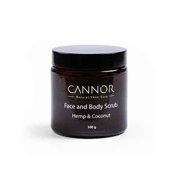 CANNOR Peeling na obličej a tělo Face & Body Scrub 100 g