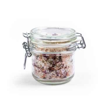 CANNOR Sůl do koupele z konopí a růže 250 g