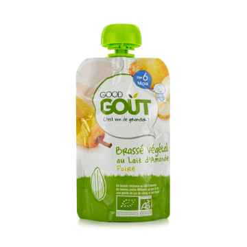 Good Gout BIO Mandlový dezert s hruškou 90 g