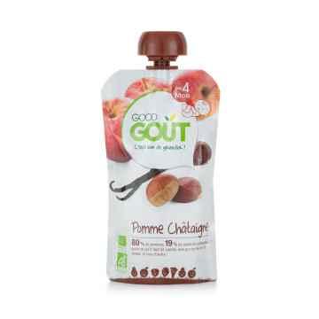 Good Gout BIO Jablko s kaštanem a vanilkou 120 g