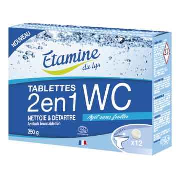 Etamine du Lys Wc tablety 2 v 1 12 ks