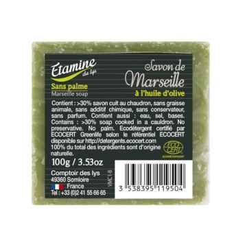 Etamine du Lys Marseillské zelené mýdlo 100 g