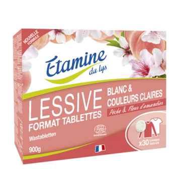 Etamine du Lys Prací tablety broskev a mandlový květ 30 ks