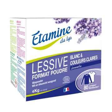 Etamine du Lys Prací prášek levandule 4 Kg
