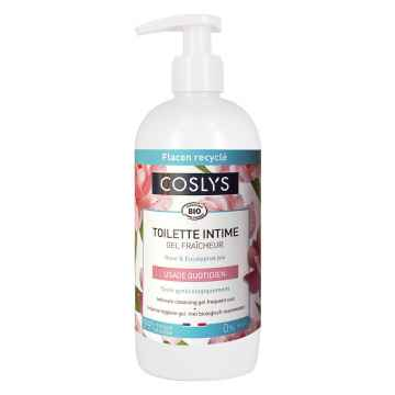 Coslys Intimní mycí gel s růžovou vodou 500 ml