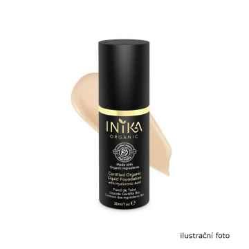 Inika Organic Tekutý make-up s kyselinou hyaluronovou, Nude 4 ml
