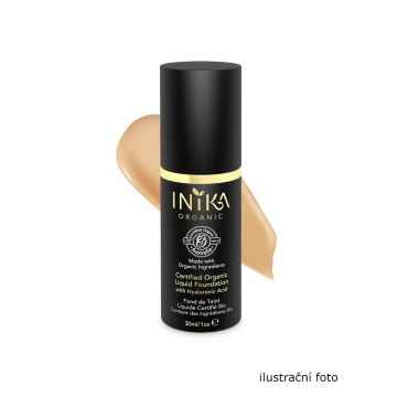 Inika Organic Tekutý make-up s kyselinou hyaluronovou, Tan 4 ml