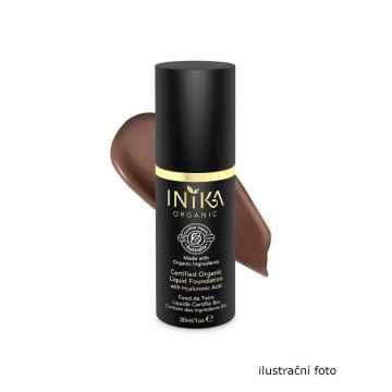 Inika Organic Tekutý make-up s kyselinou hyaluronovou, Cocoa 4 ml