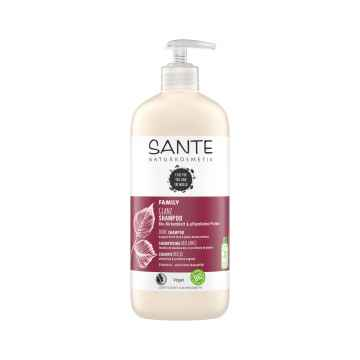 SANTE FAMILY Šampon na lesk Bio Březové lístky & Rostlinné proteiny 500 ml