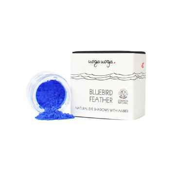 Uoga Uoga Bluebird feather, sypké oční stíny 1 g