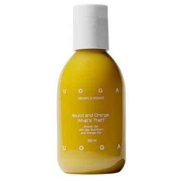 Uoga Uoga Round and Orange. Whats that?, sprchový gel 250 ml