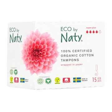 Eco by Naty Dámské tampóny super plus 15 ks
