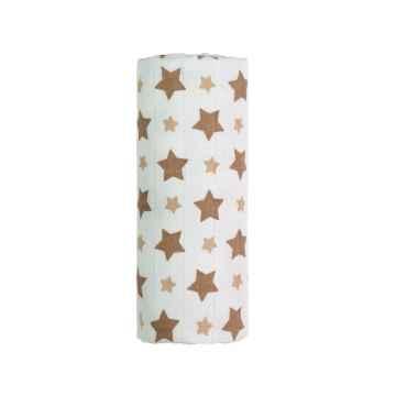 T-TOMI BIO Bambusová osuška beige stars / béžové hvězdičky 1 ks