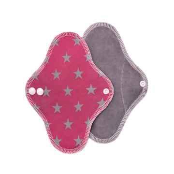 T-TOMI Látková vložka intim pink stars / růžové hvězdičky 1 ks